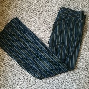 The Limited Striped Cassidy Fit Bootcut Trouser